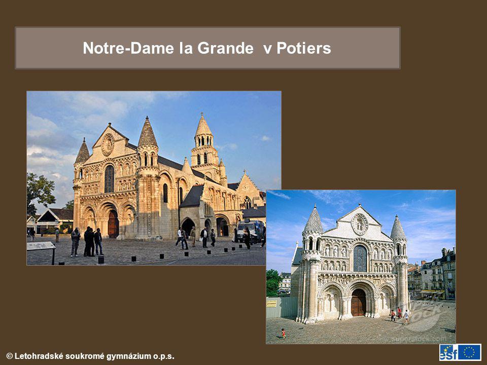 Notre-Dame la Grande v Potiers