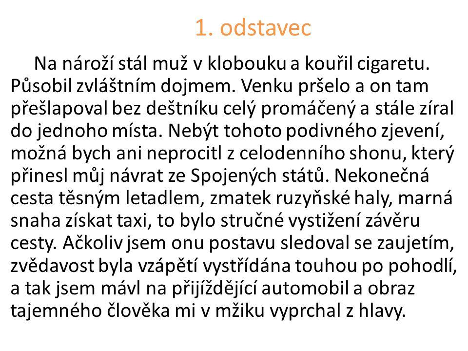 1. odstavec