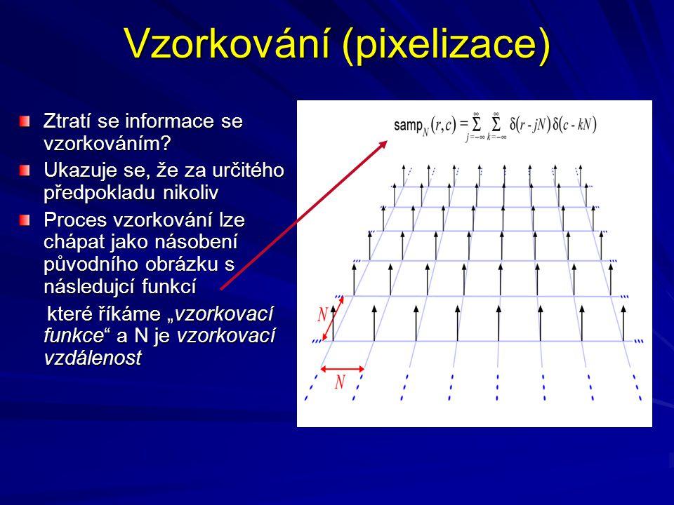 Vzorkování (pixelizace)