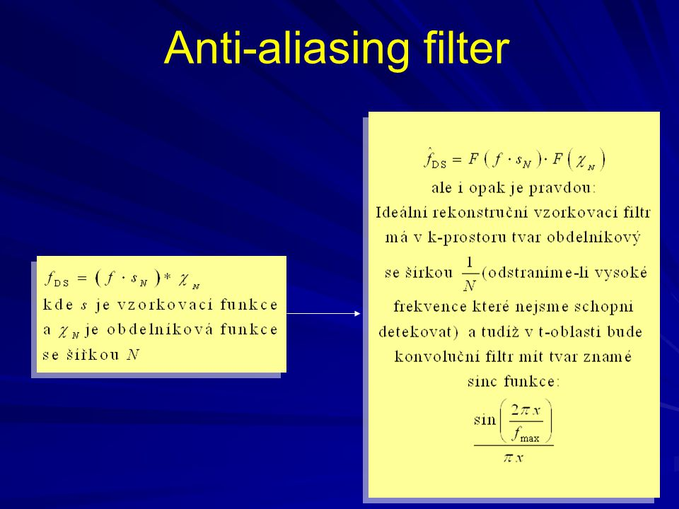 Anti-aliasing filter