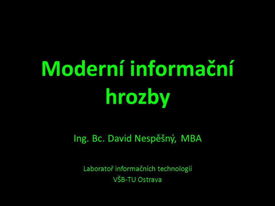 Moderní informační hrozby