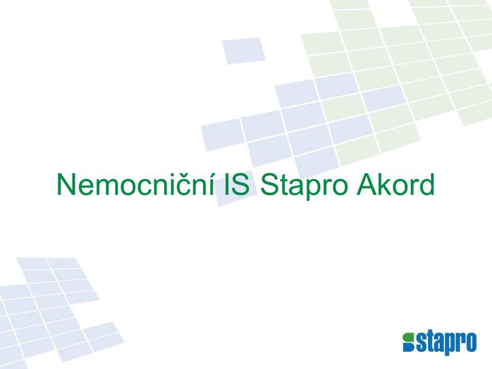 Nemocniční IS Stapro Akord