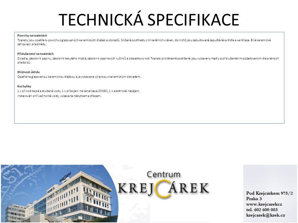 TECHNICKÁ SPECIFIKACE