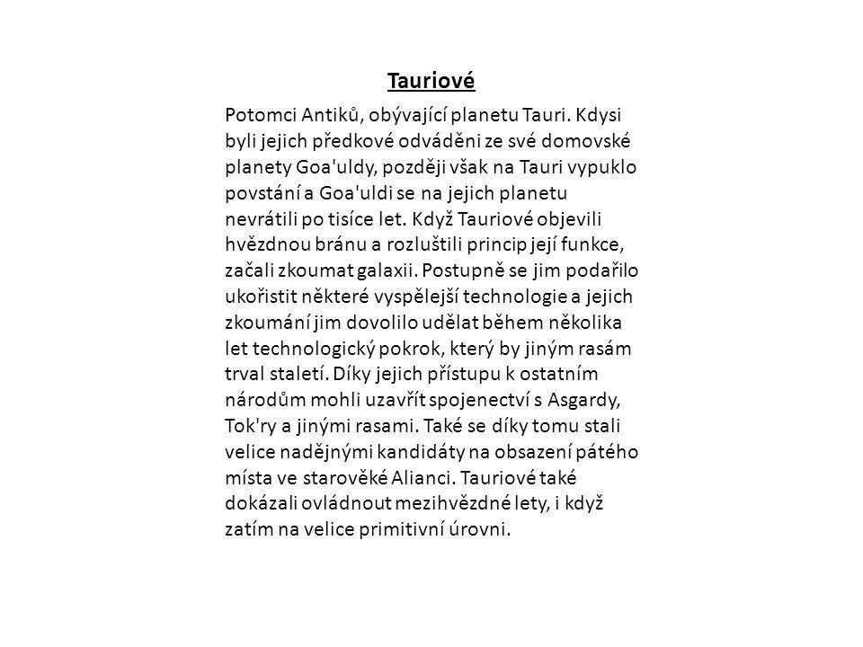 Tauriové
