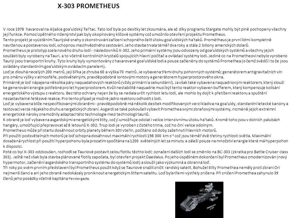 X-303 PROMETHEUS