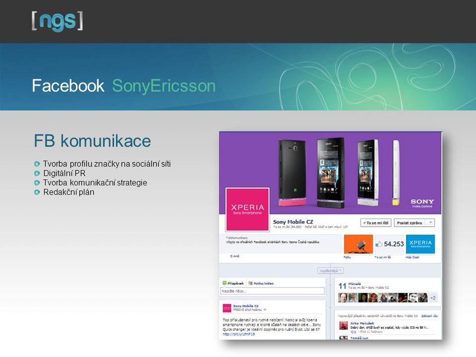 Facebook SonyEricsson
