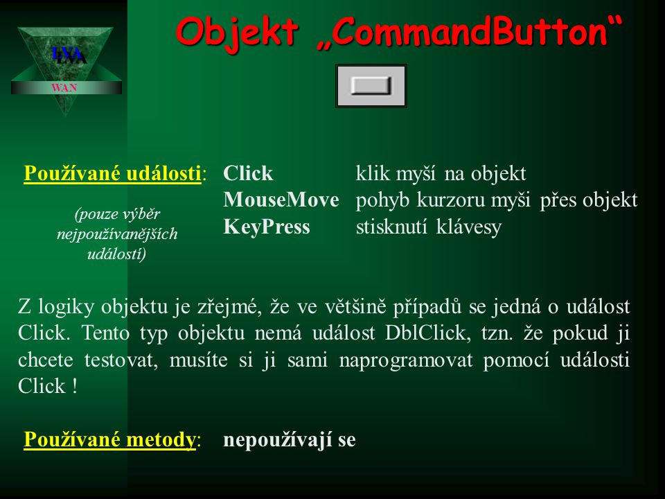 "Objekt ""CommandButton"