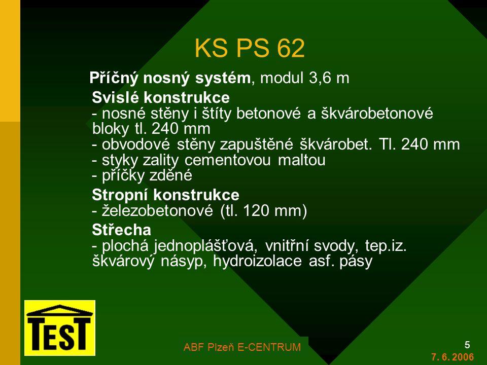 KS PS 62 Svislé konstrukce