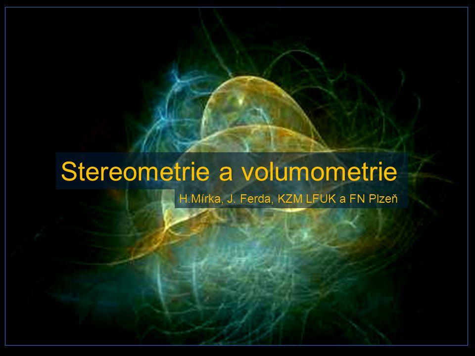 Stereometrie a volumometrie