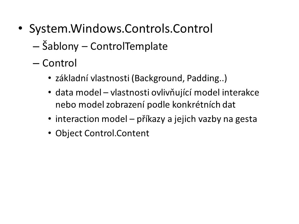 System.Windows.Controls.Control