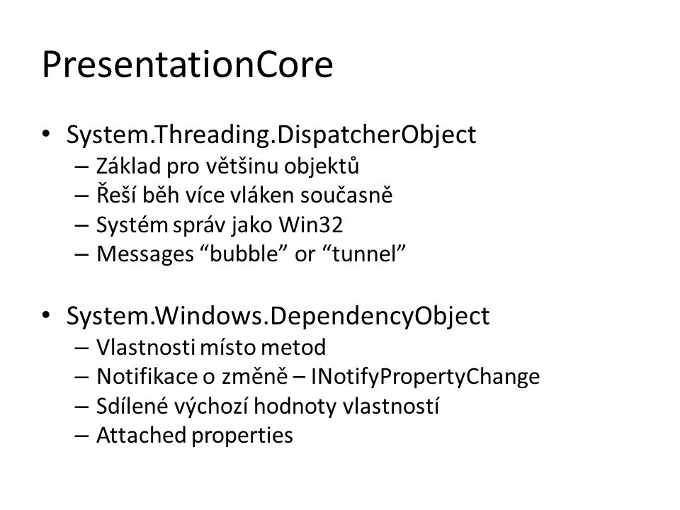 PresentationCore System.Threading.DispatcherObject