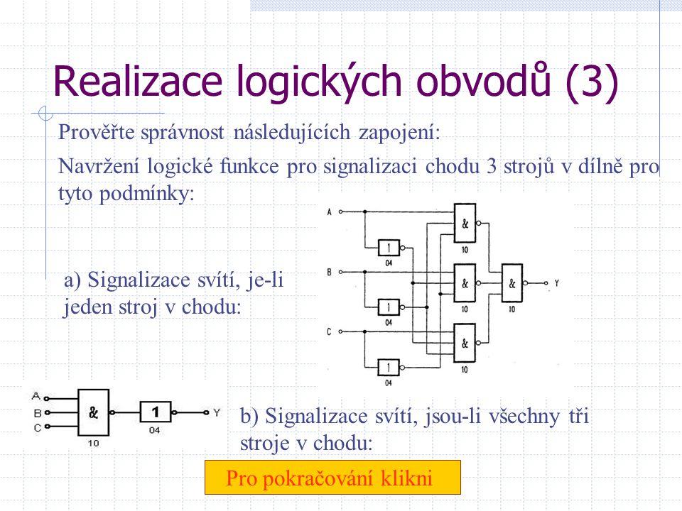 Realizace logických obvodů (3)