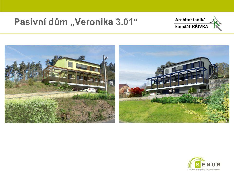 """Pasivní dům """"Veronika 3.01"""