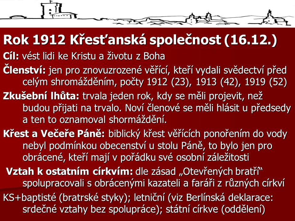 Rok 1912 Křesťanská společnost (16.12.)