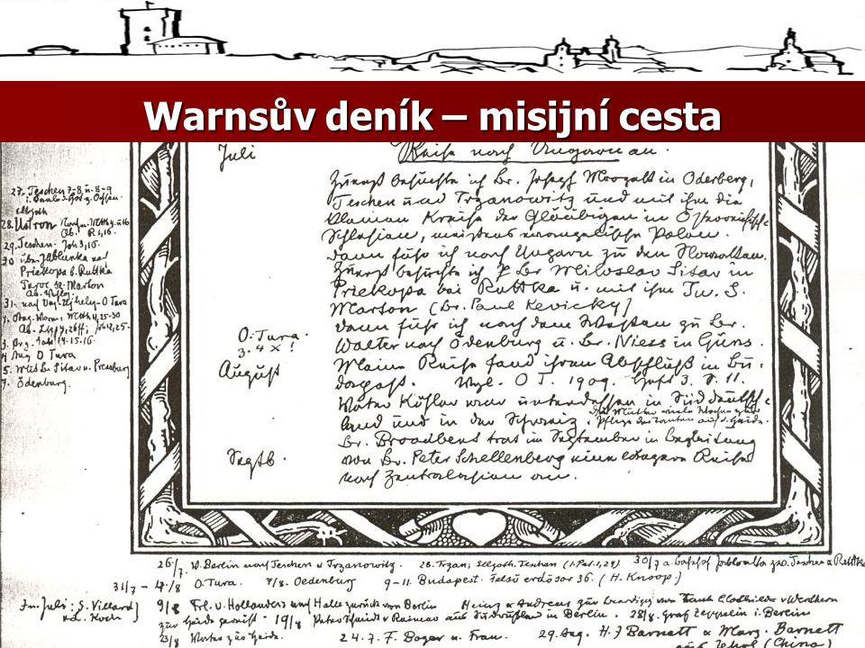 Warnsův deník – misijní cesta