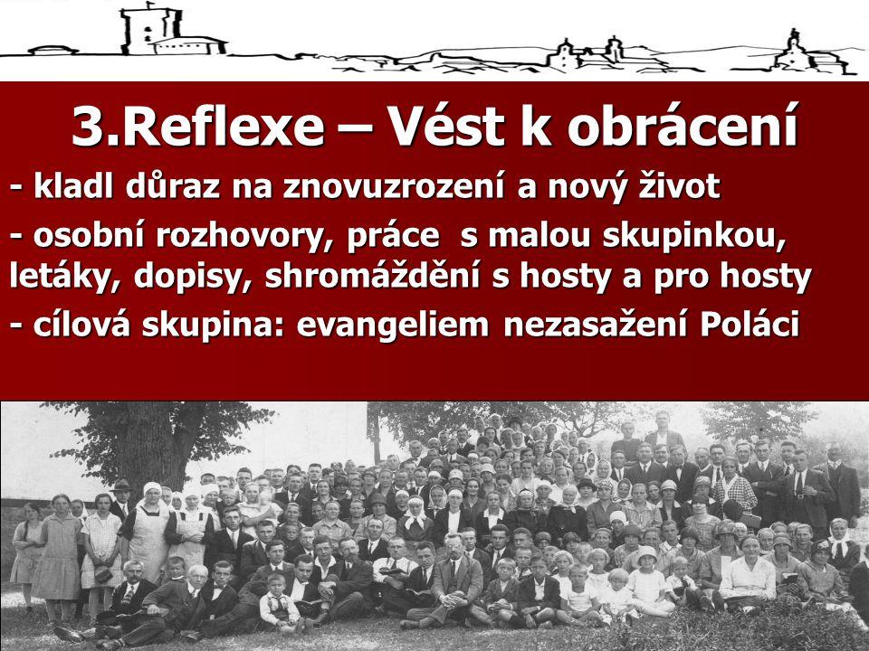 3.Reflexe – Vést k obrácení