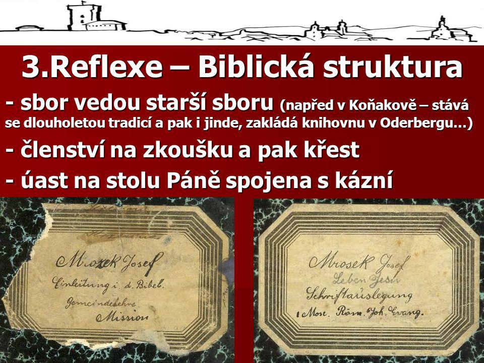 3.Reflexe – Biblická struktura