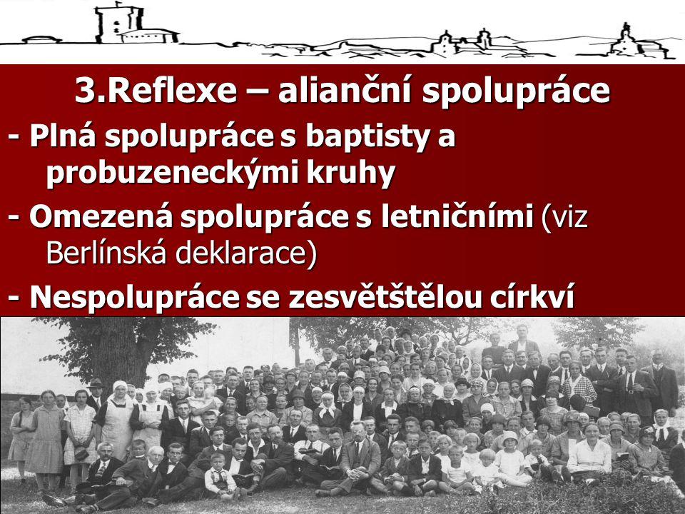 3.Reflexe – alianční spolupráce