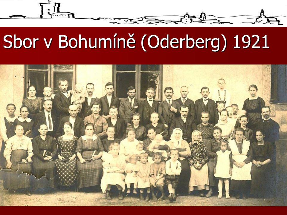 Sbor v Bohumíně (Oderberg) 1921