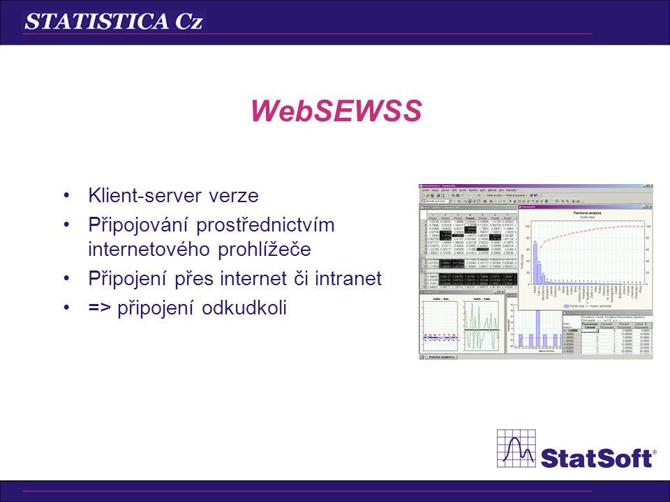 WebSEWSS Klient-server verze