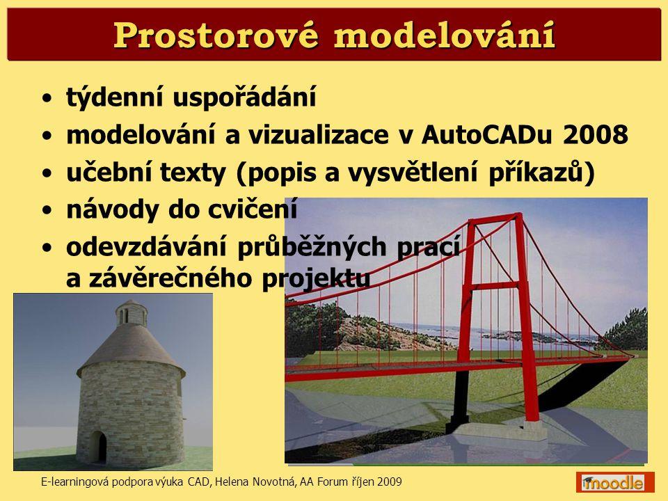 Prostorové modelování