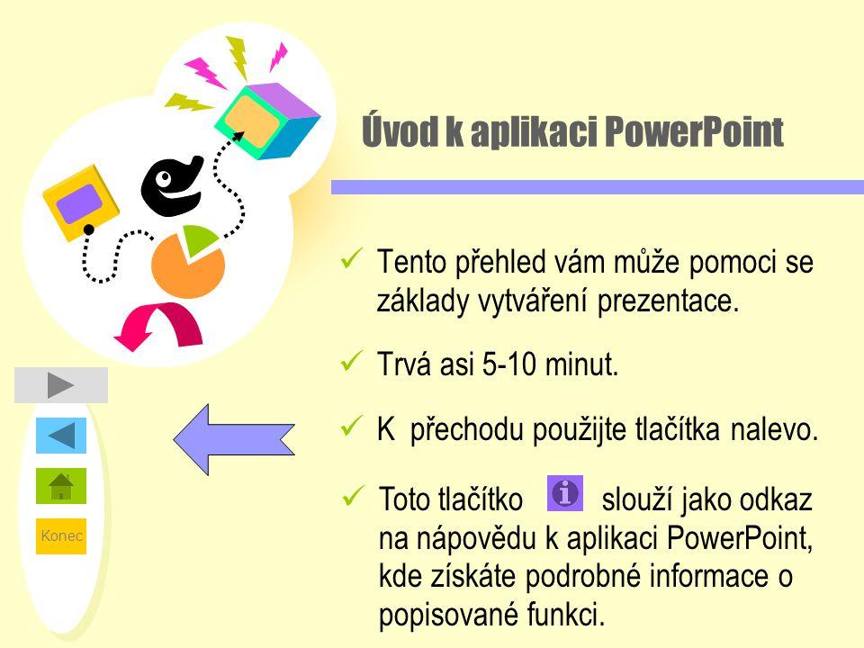 Úvod k aplikaci PowerPoint