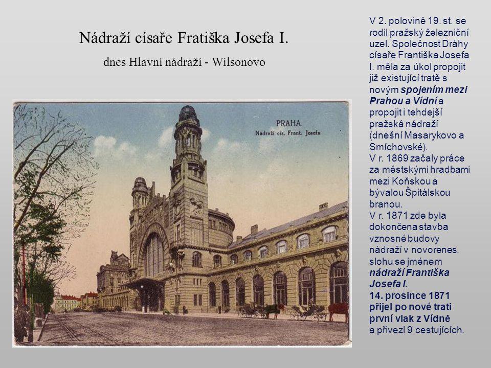Nádraží císaře Fratiška Josefa I.