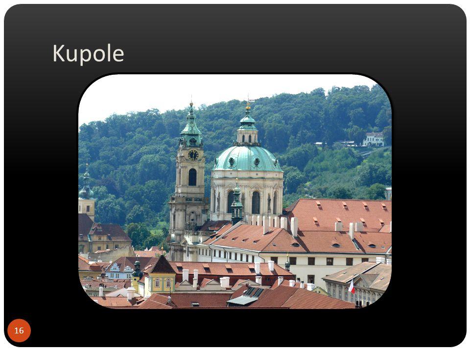 Kupole Chrám sv. Víta v Praze na Malé Straně