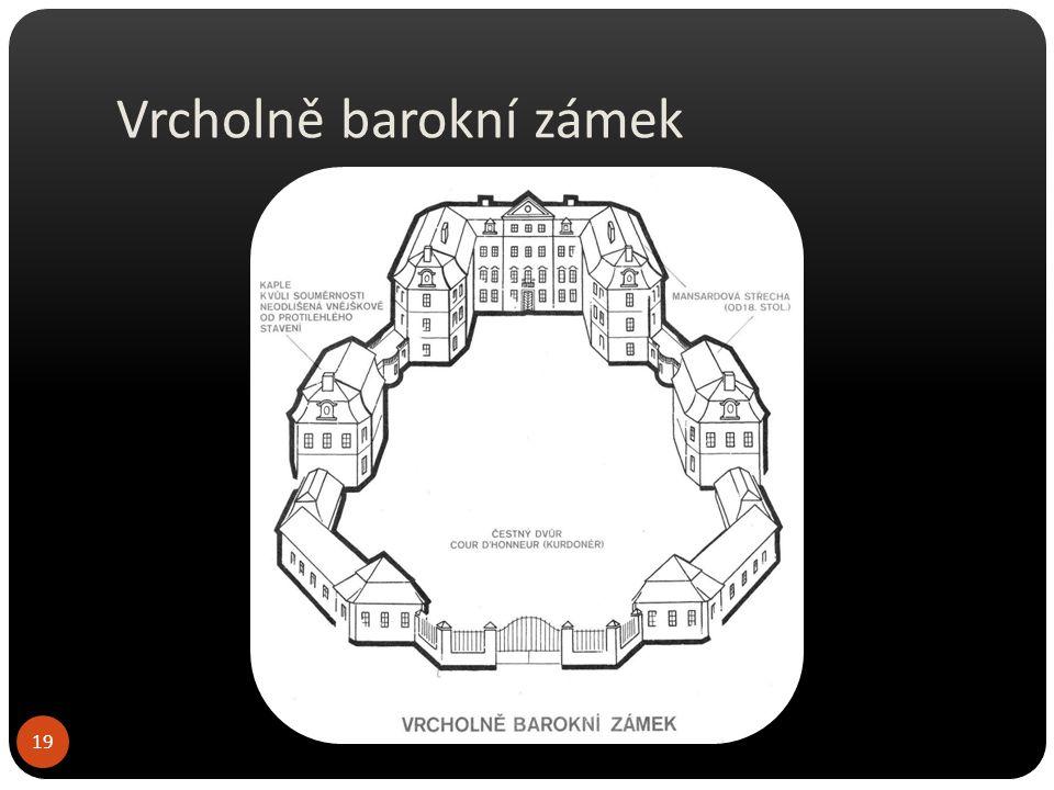 Vrcholně barokní zámek