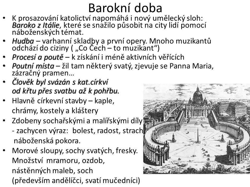 Barokní doba