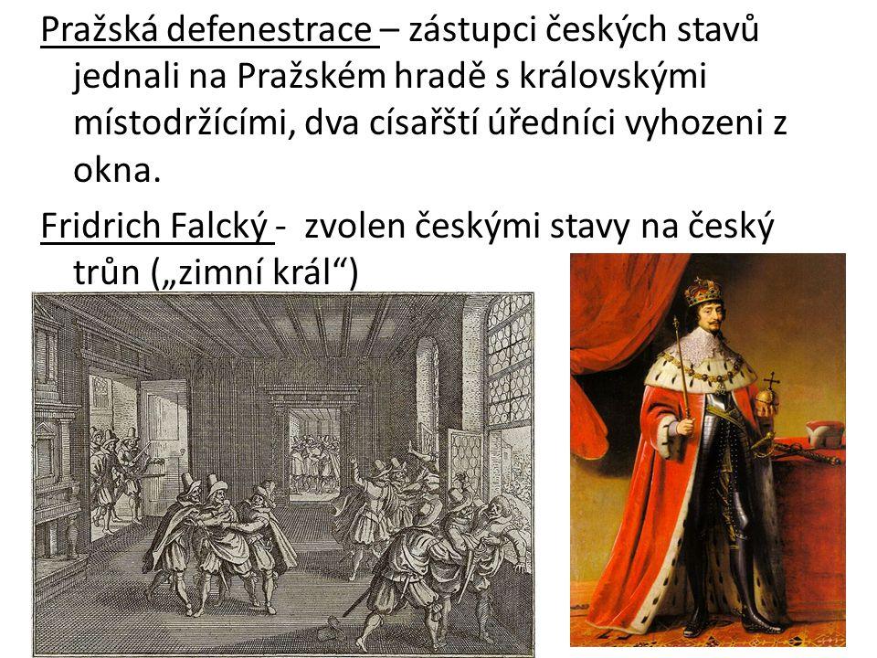 Pražská defenestrace – zástupci českých stavů jednali na Pražském hradě s královskými místodržícími, dva císařští úředníci vyhozeni z okna.