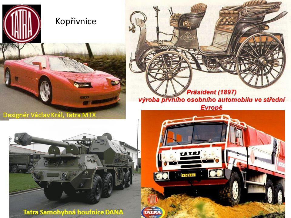 výroba prvního osobního automobilu ve střední Evropě