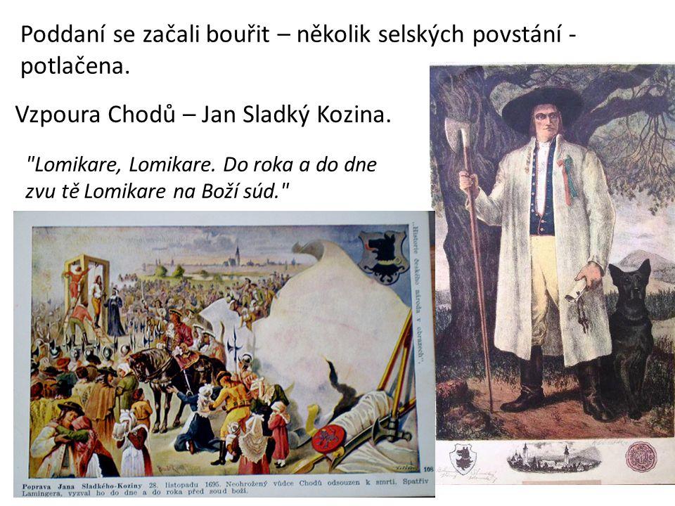 Vzpoura Chodů – Jan Sladký Kozina.