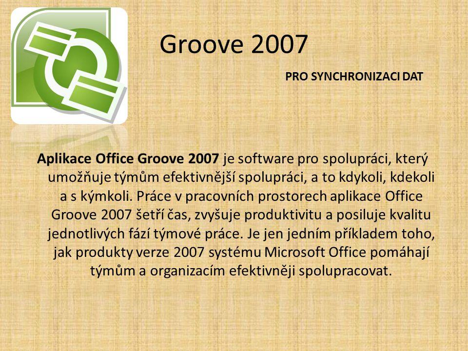 Groove 2007 PRO SYNCHRONIZACI DAT.
