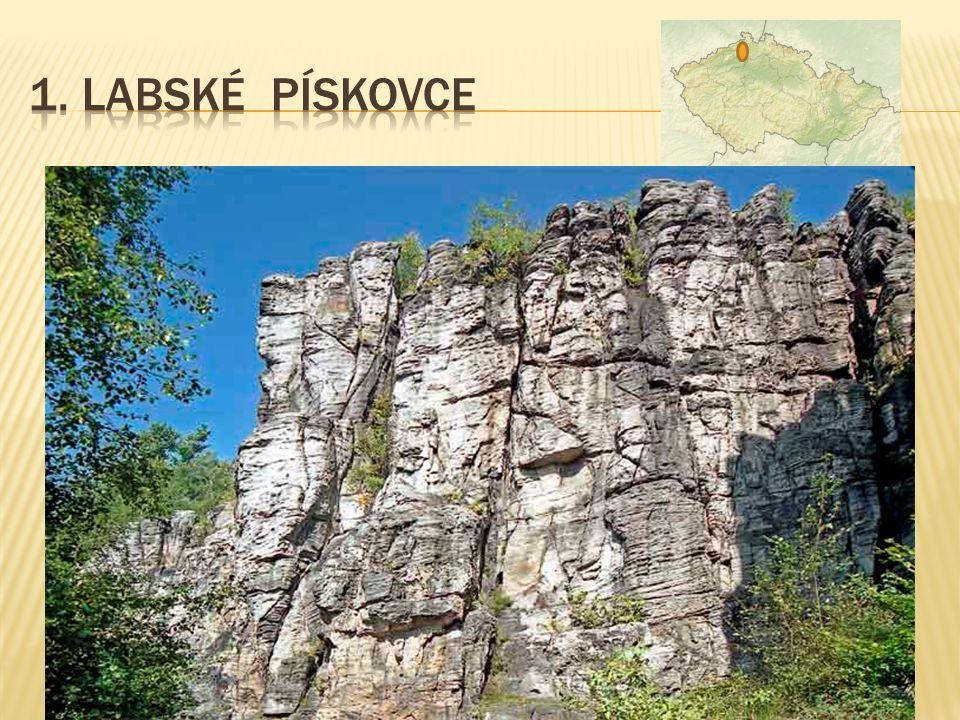 1. Labské pískovce součást NP České Švýcarsko