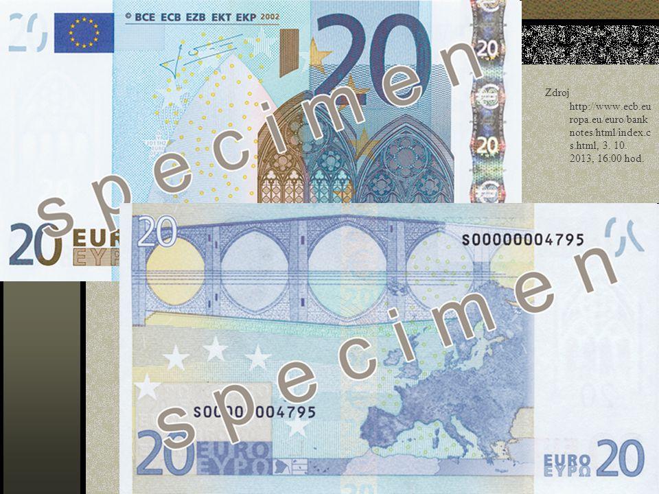 Zdroj http://www. ecb. europa. eu/euro/banknotes/html/index. cs