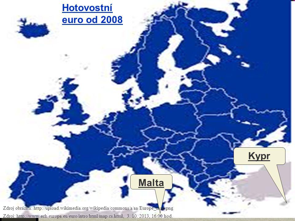 Hotovostní euro od 2008 Kypr Malta