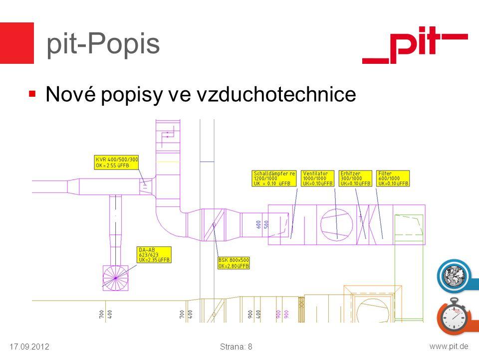 pit-Popis Nové popisy ve vzduchotechnice 17.09.2012