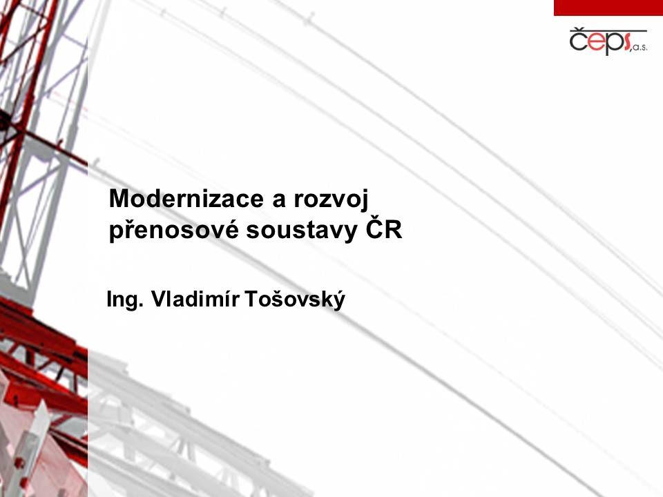 Modernizace a rozvoj přenosové soustavy ČR