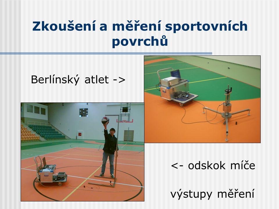 Zkoušení a měření sportovních povrchů