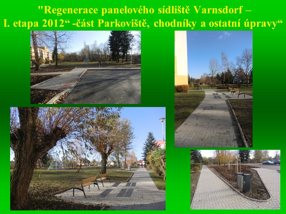 Regenerace panelového sídliště Varnsdorf – I