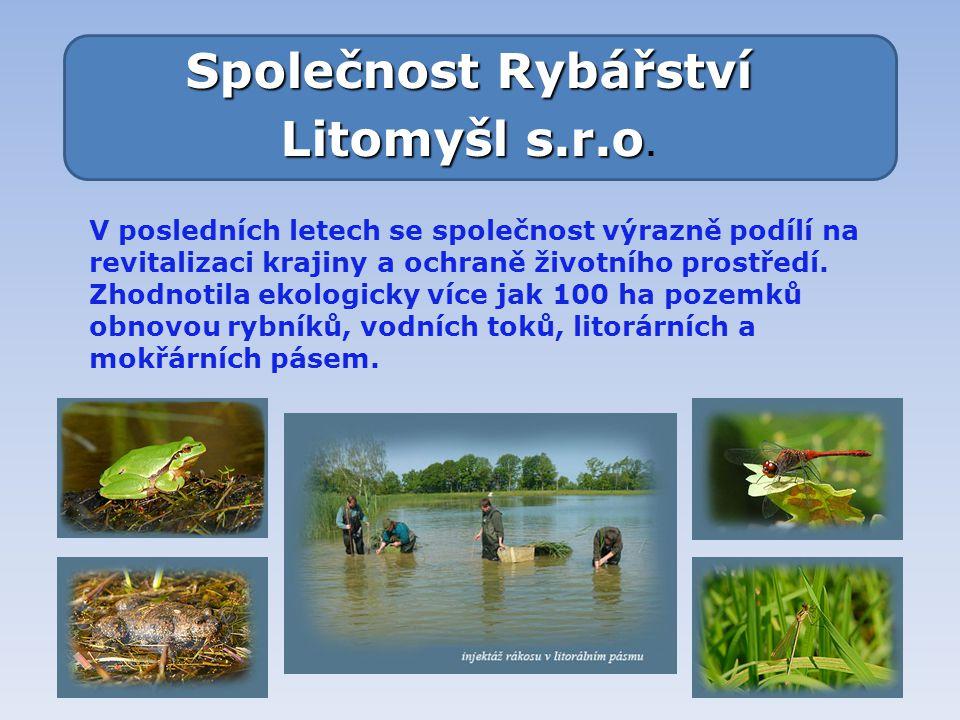 Společnost Rybářství Litomyšl s.r.o.