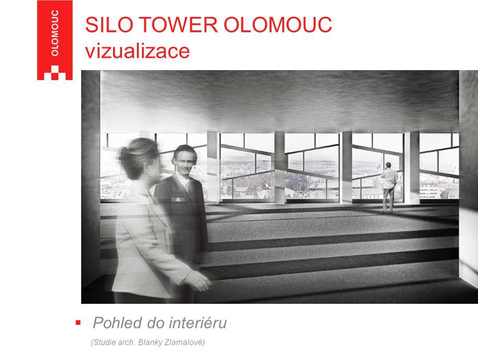 SILO TOWER OLOMOUC vizualizace