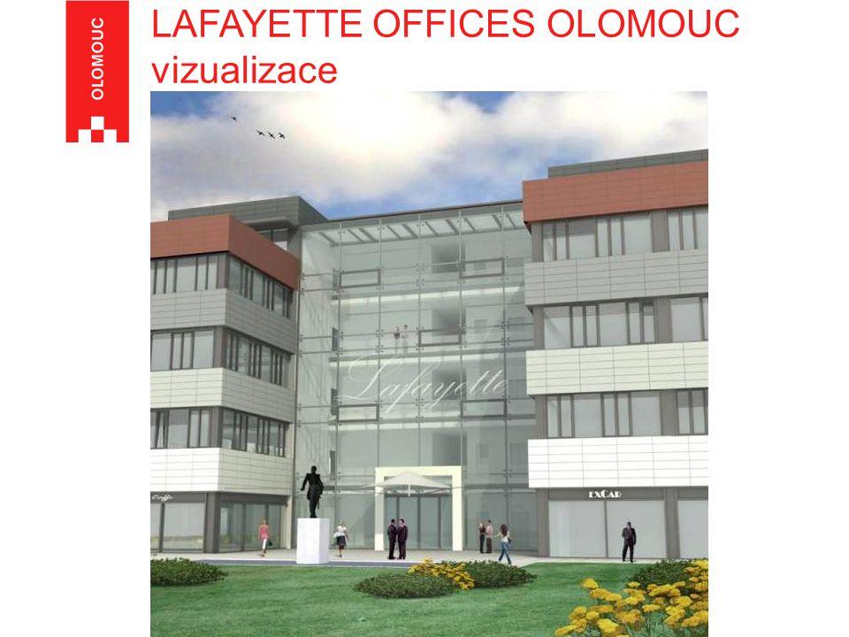 LAFAYETTE OFFICES OLOMOUC vizualizace