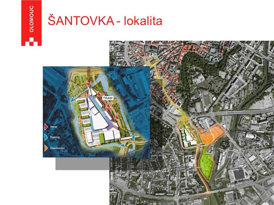 ŠANTOVKA - lokalita