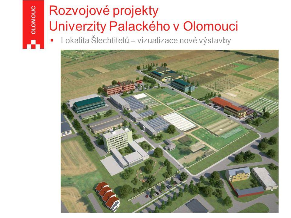Rozvojové projekty Univerzity Palackého v Olomouci