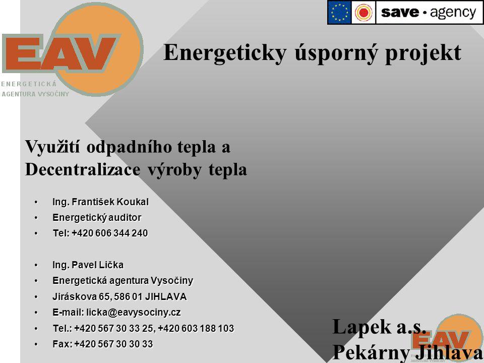 Energeticky úsporný projekt