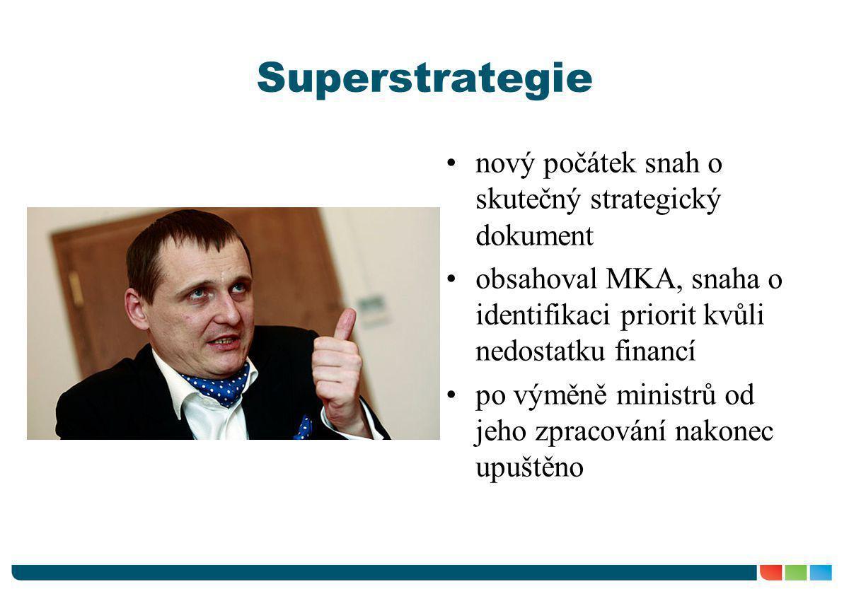 Superstrategie nový počátek snah o skutečný strategický dokument