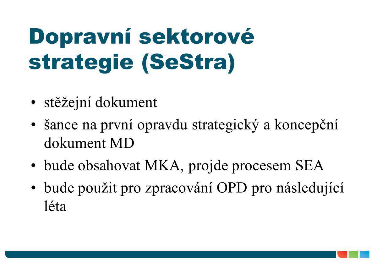 Dopravní sektorové strategie (SeStra)