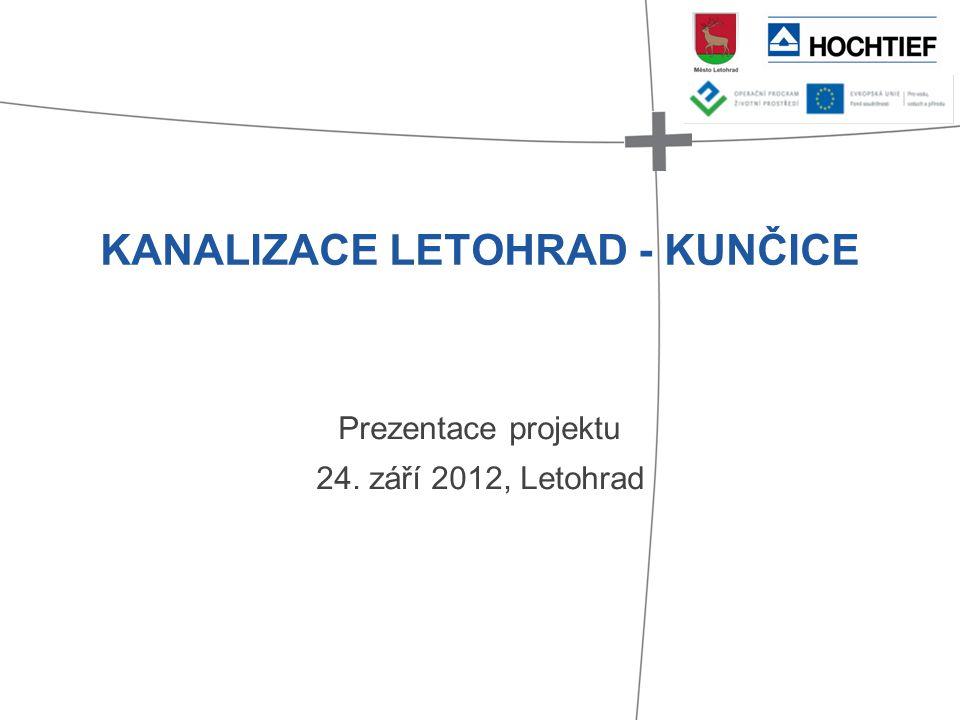 KANALIZACE LETOHRAD - KUNČICE